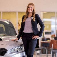 Ashley  Champion  at Van Bortel Subaru of Victor