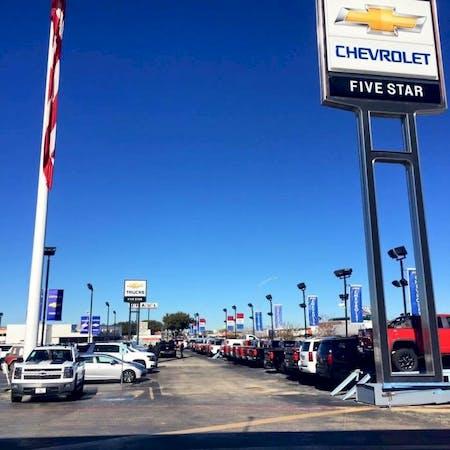 Five Star Chevrolet >> Five Star Chevrolet Chevrolet Used Car Dealer Service
