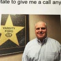 Jay  Clayton  at Varsity Ford