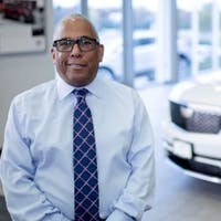 Greg  Clark at Luther Cadillac