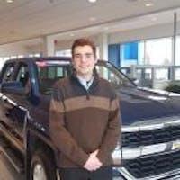 Garrett Fugina at Forest Lake Chevrolet Cadillac