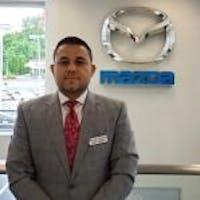 Manny Navarro at Wayne Mazda