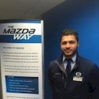 Peter Ibrahim at Wayne Mazda