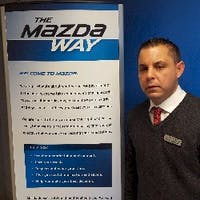 Stephen Zagoric at Wayne Mazda