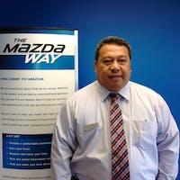 Paul Lepasana at Wayne Mazda