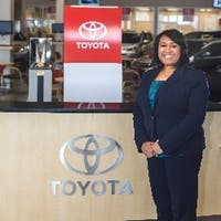 Grace Castillo at Westbury Toyota