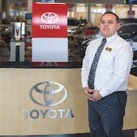 Carlos Umana at Westbury Toyota
