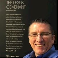John Loving at Westside Lexus