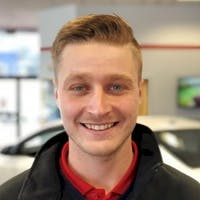 Josh Harrington at White River Toyota