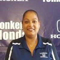 Alisa Gaito at Yonkers Honda
