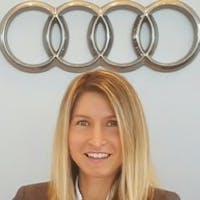 Valentina  Maciunas at Audi Hoffman Estates