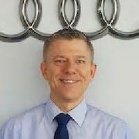 Mike Macedon at Audi Hoffman Estates