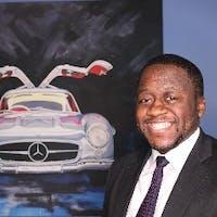 Herman Anyangwe at Silver Star Motors