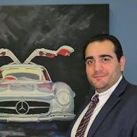 Mike Balagyozyan at Silver Star Motors