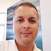 Eduard Svidunovich at Heritage Honda Bel Air
