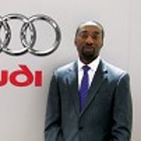 Albert Nkansa at Bell Audi