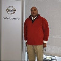 Mark  Coley  at Freehold Nissan