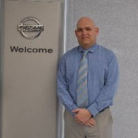 James  Brower at Freehold Nissan