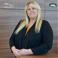 Karen Covino at Jaguar Land Rover Princeton