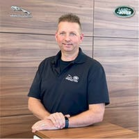 Joe Larusso at Jaguar Land Rover Princeton