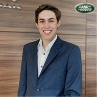Nolan Olson at Jaguar Land Rover Princeton