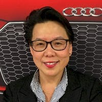 Janet Chan  at Audi Danbury