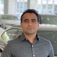 Nayan Pandey at Weatherford BMW of Berkeley