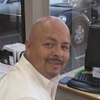 Juan Ibarra at Blade Chevrolet, Inc.