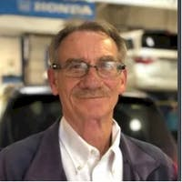 Jim Mills at Indy Honda