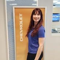 Anastasia  Baldi at Bennett Chevrolet