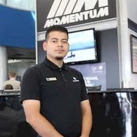 Ivan  Perez at Momentum BMW MINI