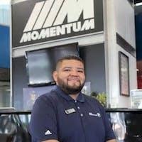 Walter  Viche at Momentum BMW MINI
