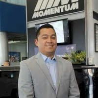 Gilbert  Quijada at Momentum BMW MINI