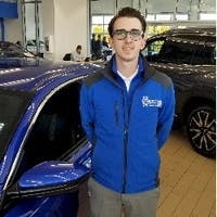 Bradon Crihfield at John Hinderer Honda