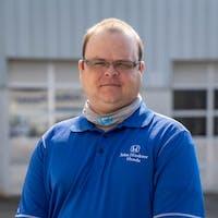 Jacob Dornbirer at John Hinderer Honda - Service Center