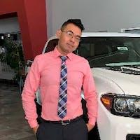 John Nguyen at Dublin Toyota