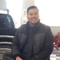 Phong  Nguyen  at Dublin Toyota