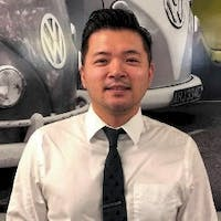 Sung Hong at Stone Mountain Volkswagen