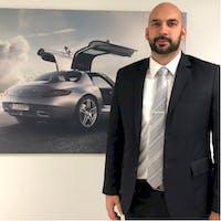 Marko Jovanovic at Benzel-Busch Motor Car - Service Center