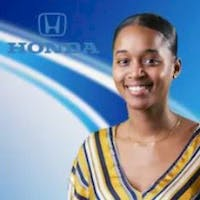 Danielle Duarte at Herb Chambers Honda in Boston
