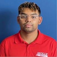 Adrian Galindo at Molle Toyota
