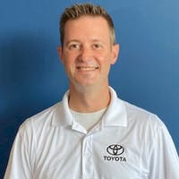 Brad Van Eaton at Molle Toyota
