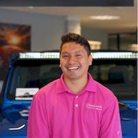 Josh Huezo at Bergeron Chrysler Dodge Jeep Ram