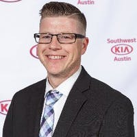 Brandon Zehr at Southwest Kia Austin