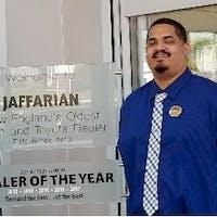 Adrian Gonzalez at Jaffarian Toyota