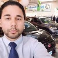 Luis David Sucre at Boch Honda