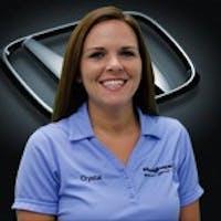 Crystal Collins at Hughes Honda - Service Center