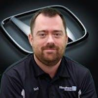 Neil Brewer at Hughes Honda