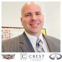 DJ Johnson at Crest INFINITI