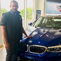 Balaji Rajamohan at Richmond BMW Midlothian
